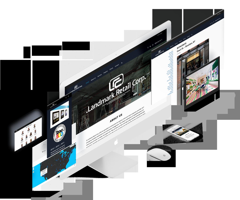 high-end construction website-launch